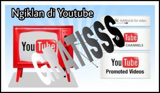 Pasang Iklan Gratis di Youtube