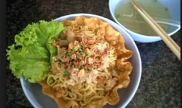 Resep Mie Goreng Pedas Bakar Keju