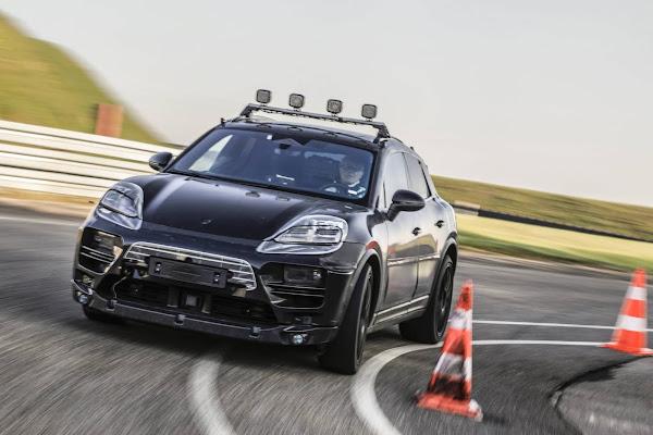 Novo Porsche Macan 100% elétrico entra em fase de testes de rua