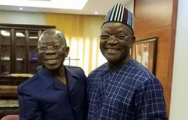 Oshiomhole pleads for out-of-court settlement in Governor Ortom's N10bn libel suit