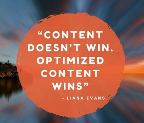 Optimized Your Content Quote, sumber : Pinterest