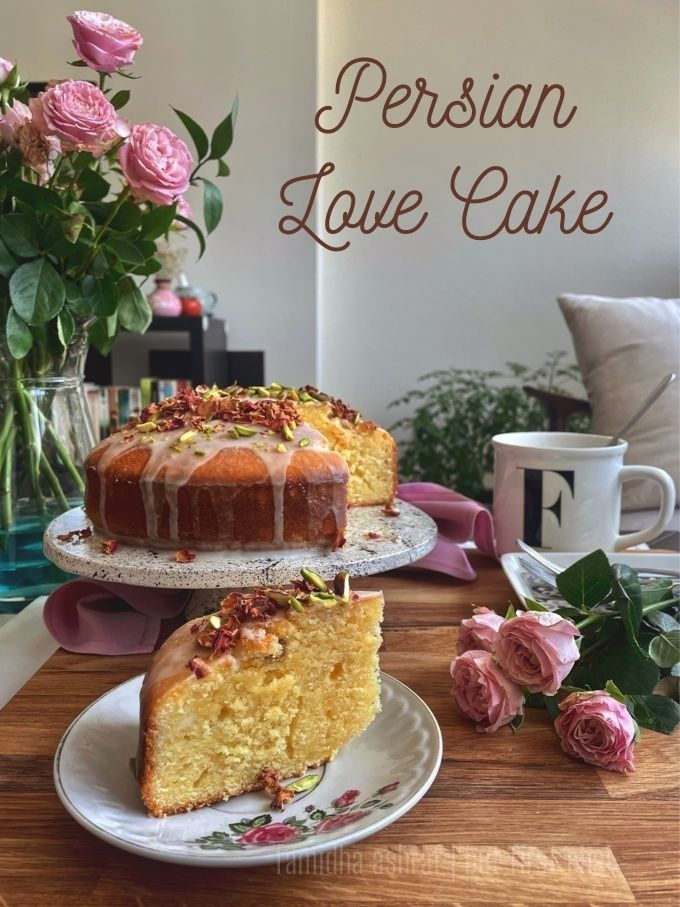 Persian Love Cake that I baked for my Birthday