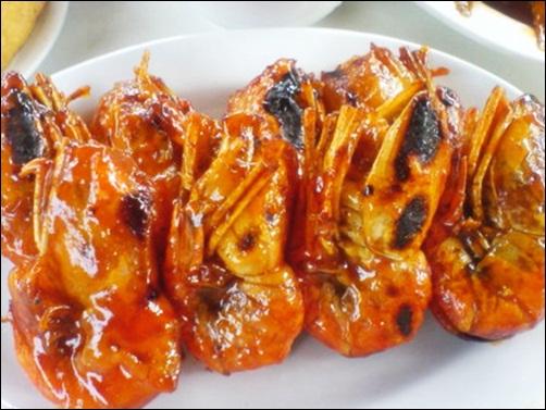 Mom S Kitchen Udang Bakar Saus Madu Roasted Shrimp Honey Sauce