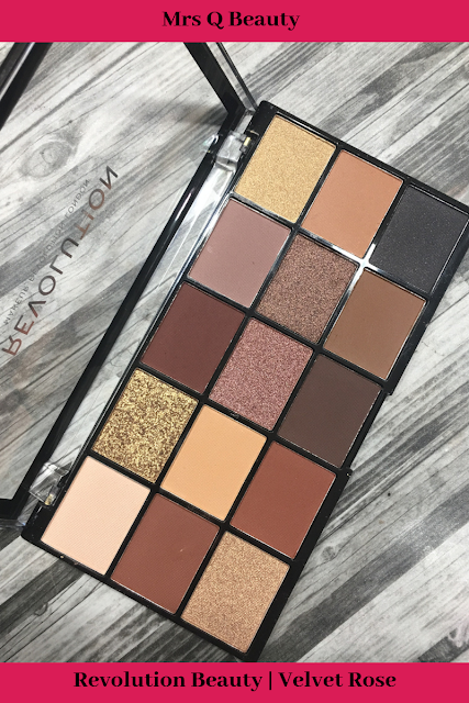 Revolution Beauty | Velvet Rose Eyeshadow Palette (Anastasia Beverly Hills Soft Glam Dupe) (Review and Swatches )