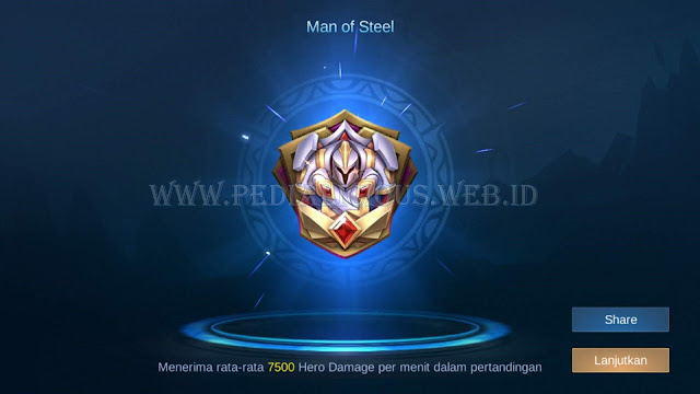 "Achievement ""Man of Steel"""