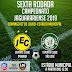 Sétima rodada do Campeonato Jaguarariense 2019 acontecerá neste domingo (07)