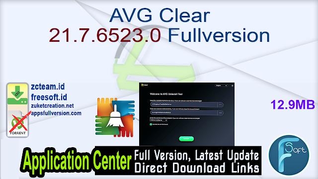 AVG Clear 21.7.6523.0 Fullversion
