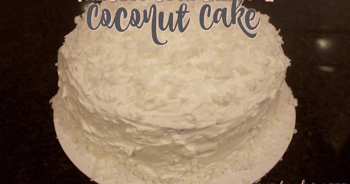 Coconut Cake Recipe With White Cake Mix And Sour Cream