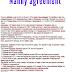 Nanny agreement document