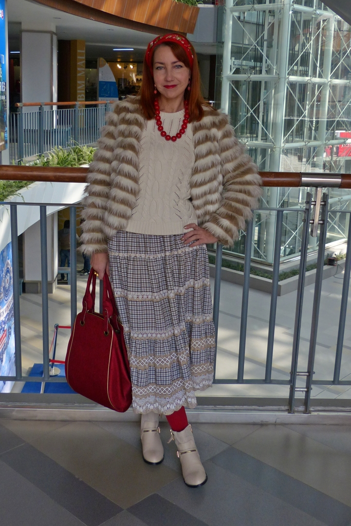 Folk style outfit