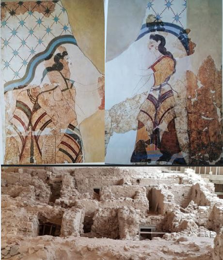 Akrotiri House of the Ladies - 2