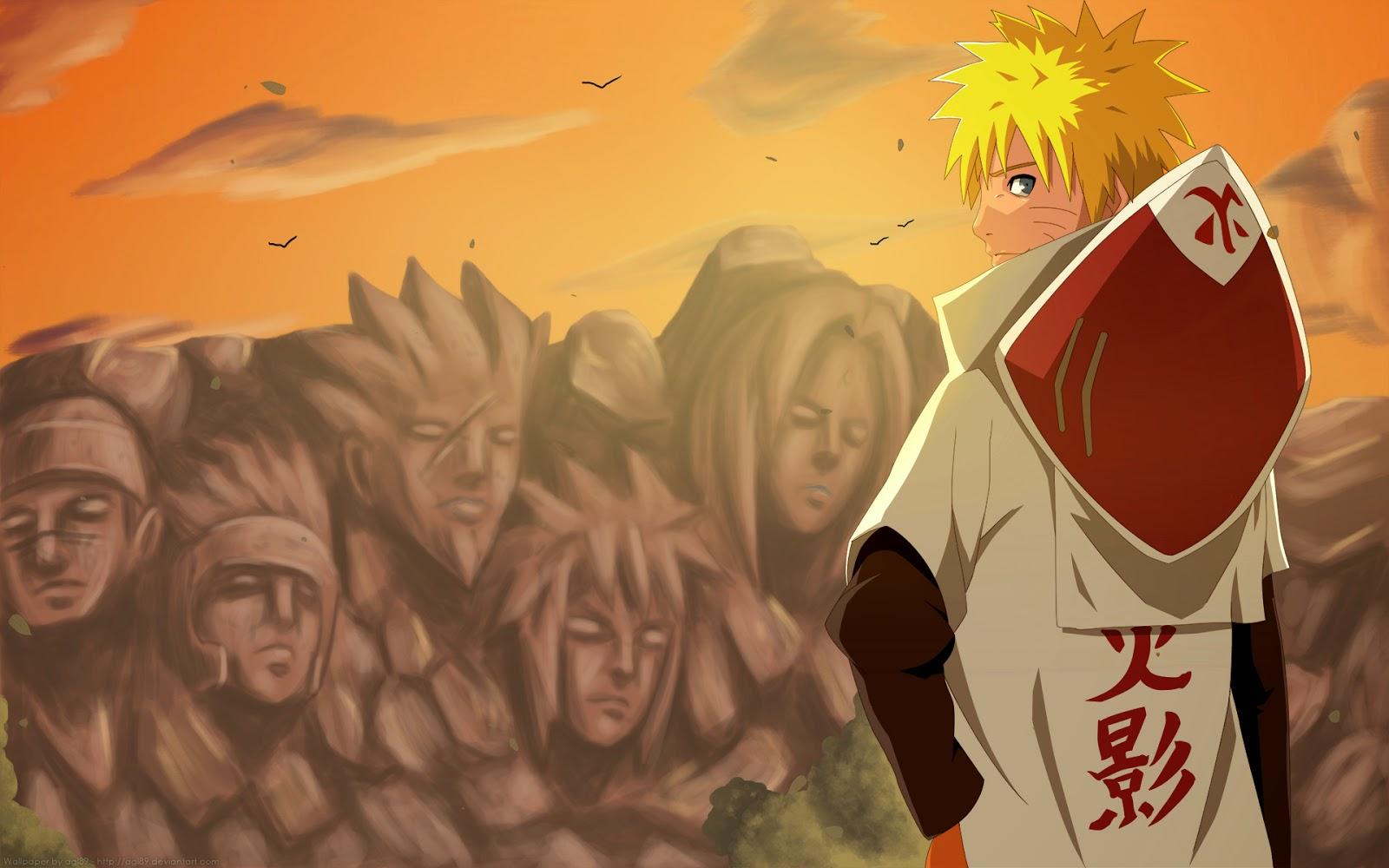 Kumpulan Dp Bbm Naruto Menjadi Hokage