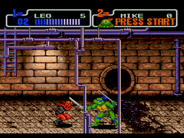 TMNT Hyperstone Heist Screenshot