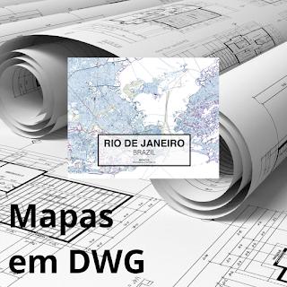 Baixar mapas em DWG grátis