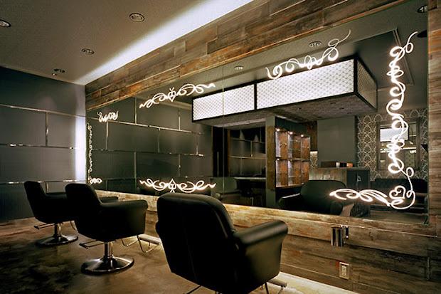 luxury hair salon design - home