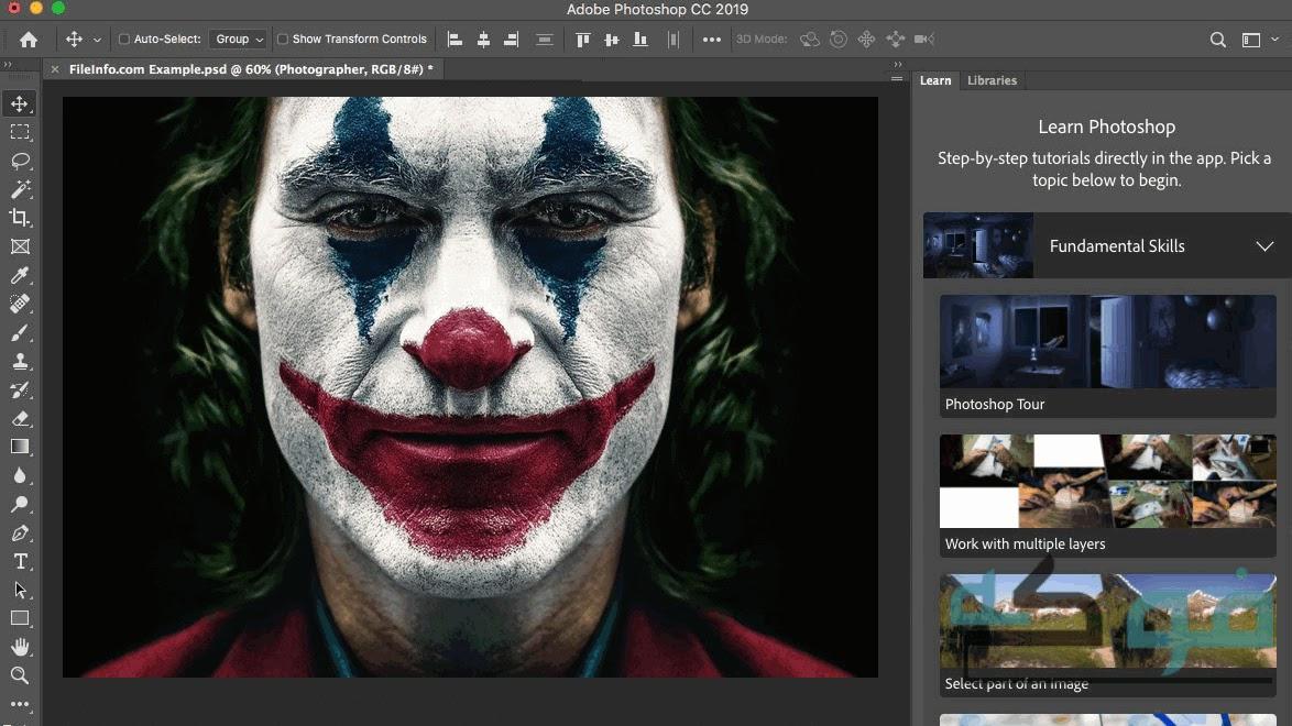 تحميل برنامج فوتوشوب Adobe Photoshop للكمبيوتر مجانا ps
