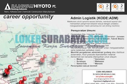 Lowongan Kerja Surabaya Terbaru di PT. Rajawali Hiyoto Mei 2019