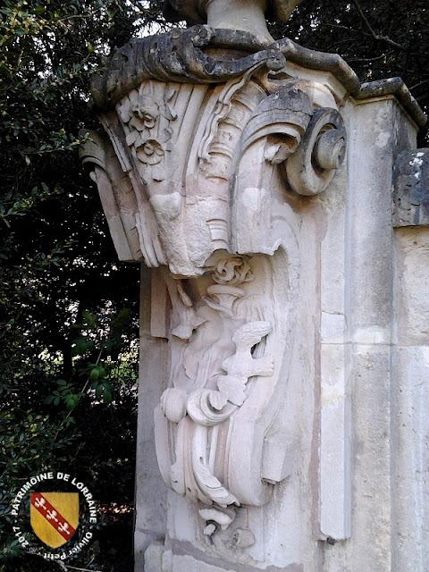 NANCY (54) - Portique du Parc de la Pépinière (XVIIIe siècle)