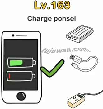 charging ponsel brain out