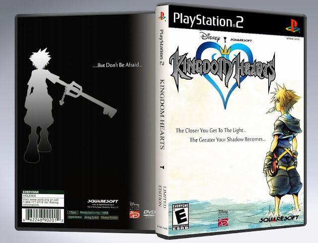 Capa Kingdom Hearts PS2