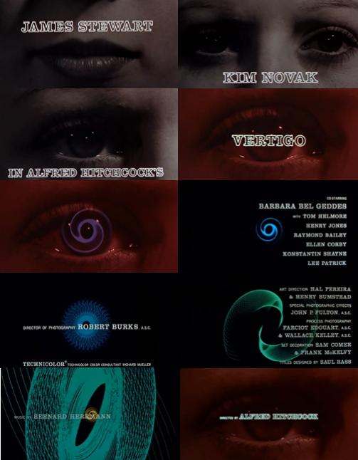 Vertigo Opening Credits by Saul Bass