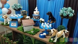 Decoração festa infantil Cachorros