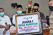 Lima Desa Wakili Lobar Ikut Lomba Kampung Sehat Tingkat Provinsi