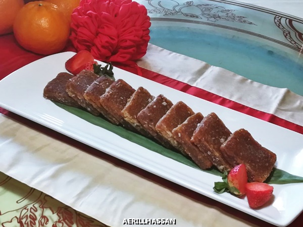 PAN-FRIED TRADITIONAL LUNAR NEW YEAR CAKE 'NIAN GAU'