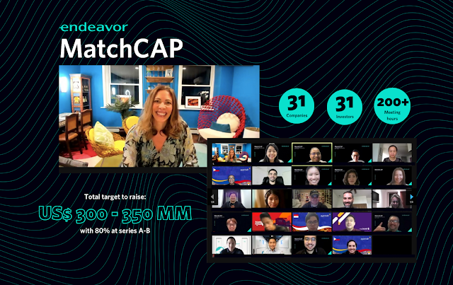 ENDEAVOR Matchcap Connnects Top High-Impact Investors and Entrepreneurs in the APAC Region