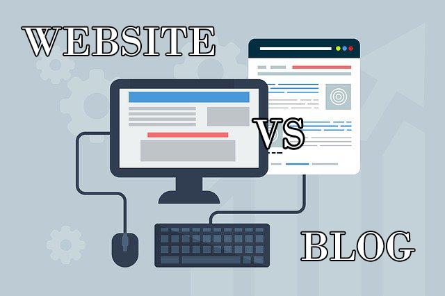 Perbedaan Website dan Blog yang wajib diketahui