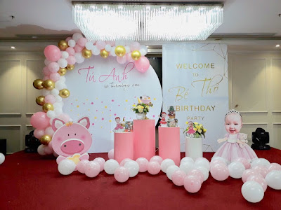 Dịch vụ trang trí sinh nhật tại nhà Tây Hồ- Hà Nội