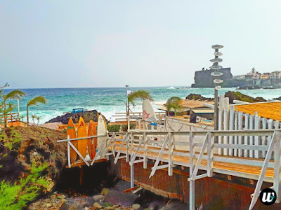 Beach club, Aci Trezza | Sicily, Italy | wayamaya