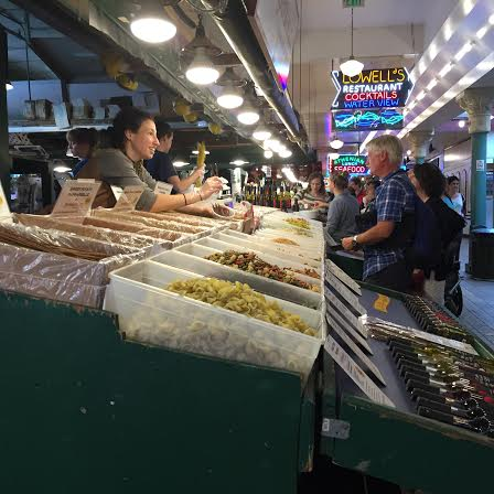 Fresh pasta at Pike Place Market Seattle