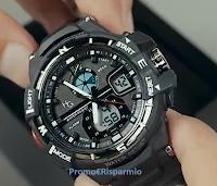 Con DokiShop vinci gratis un orologio sportivo Hector Army Gold