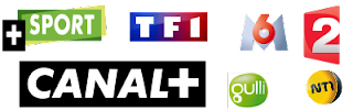 Spain PT FR TF1 AXN Tivibu sport playlist