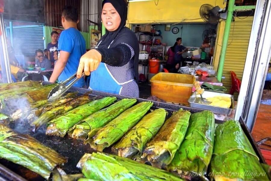 Приготовление еды на улице