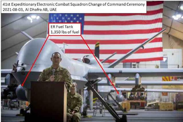 Terbang Ribuan Kilometer, AS kerahkan MQ-9 Reaper Extended Range dalam Misi Serangan di Afghanistan