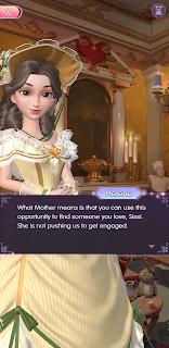 Helene assures Sissi that she should marry for love