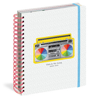 This Is My Song 17-Month Large Planner 2020-2021