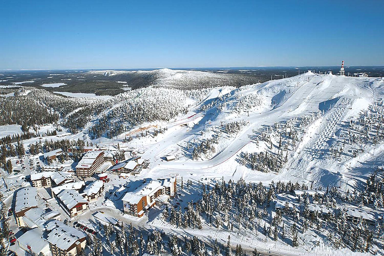 The best ski resorts in Finland. Ski resort Levi (Finland) 94