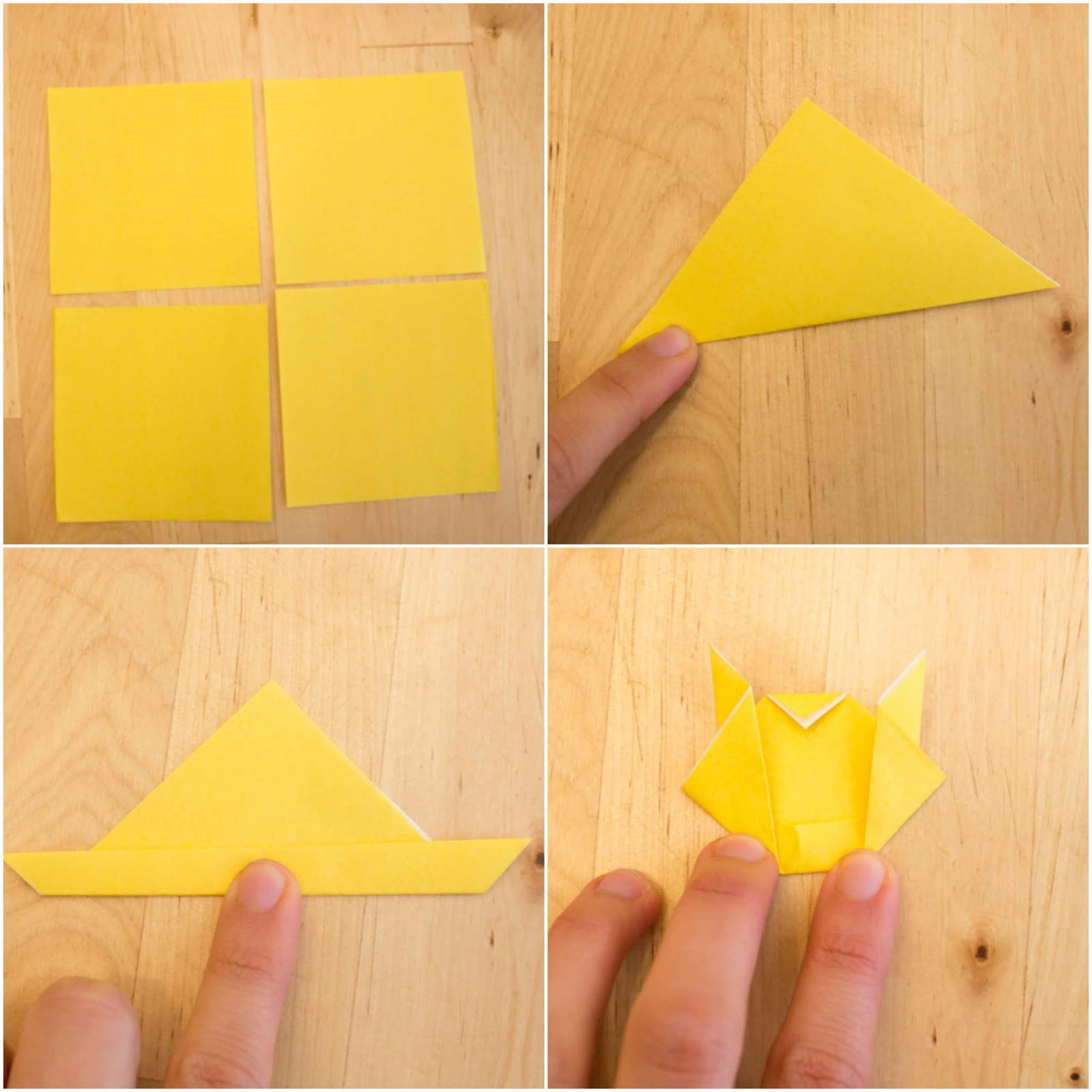 Origami Pikachu Tutorial - Cute Origami Pokemon! - Paper Kawaii | 1600x1600