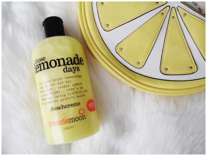 beauty | treaclemoon | those lemonade days shower gel | more details on my blog http://junegold.blogspot.de | life & style diary from hamburg | #beauty #treaclemoon #thoselemonadedays #showergel #duschcreme