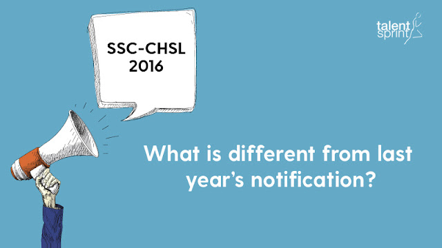 SSC-CHSL Exam Notification 2016