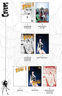 List of covers part 2 of The Shape of Elvira #1 from Dynamite Entertainment