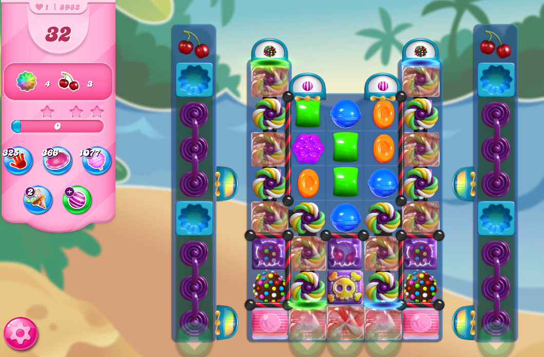 Candy Crush Saga level 8982
