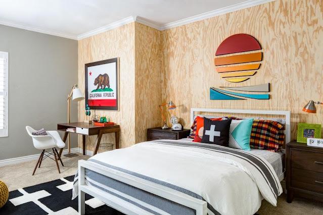 bedroom design idea for a teenage girl