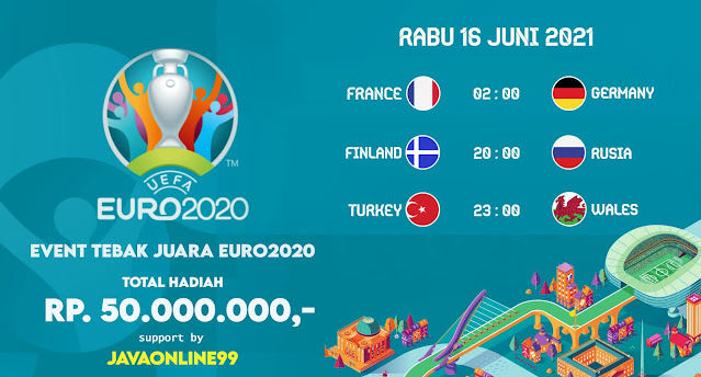 jadwal euro2020