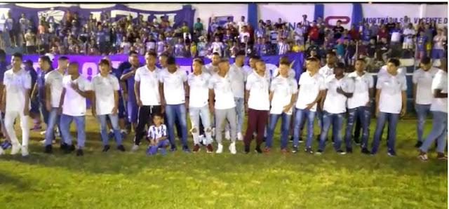 Atlético de Cajazeiras apresenta o elenco que vai disputar o paraibano de 2020