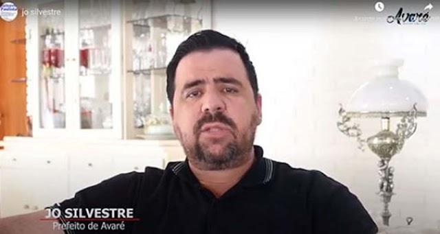 PREFEITO DE AVARÉ EMITE NOTA SOBRE A RECLASSIFICAÇÃO DE AVARÉ PARA FASE VERMELHA