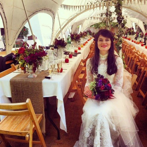 Vintage Wedding Dresses Boston: Molly, Stunning In A 1960s Wedding Dress By Priscilla Of